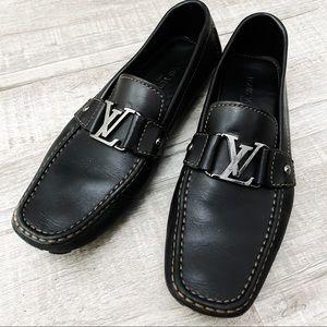 💯 Louis Vuitton Monte Carlo LV men's loafers